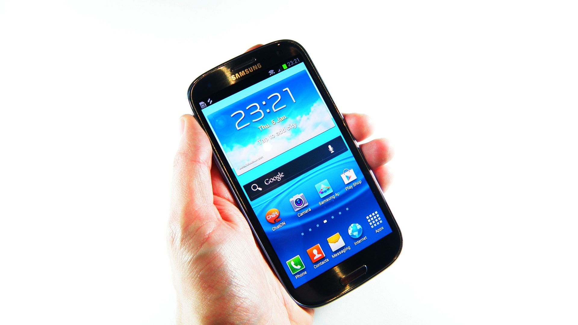 Hands-on review: Updated: Samsung Galaxy S3