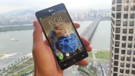 Hands-on review: LG Optimus G