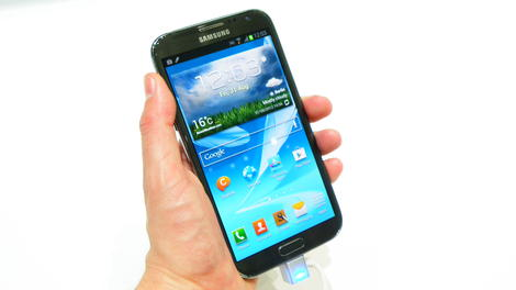 Hands-on review: Updated: Samsung Galaxy Note 2