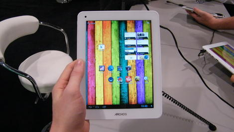 Hands-on review: CES 2013: Archos 80 Titanium