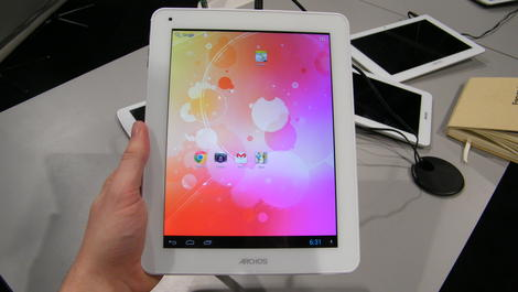 Hands-on review: CES 2013: Archos 97 Titanium