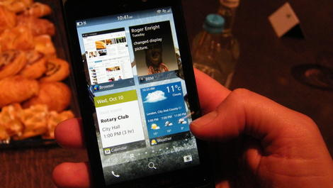 Hands-on review: Updated: BlackBerry 10