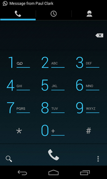 Google Nexus 4 contacts