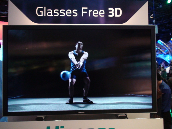 Glasses-free 3D UHD viewing angles