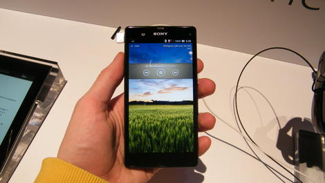 Hands-on review: Updated: Sony Xperia Z