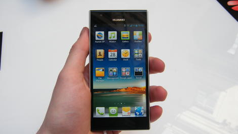 Hands-on review: MWC 2013: Huawei Ascend P2