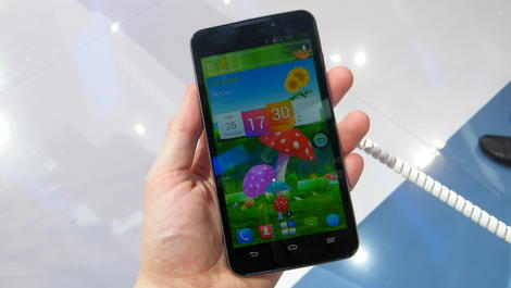 Hands-on review: MWC 2013: ZTE Grand Memo