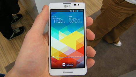 Hands-on review: MWC 2013: LG Optimus F7