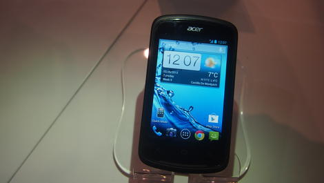 Hands-on review: MWC 2013: Acer Liquid Z2