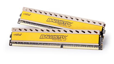 Review: Crucial Ballistix Tactical LP 16GB