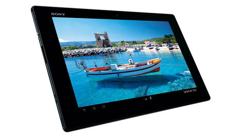Hands-on review: MWC 2013: Sony Xperia Tablet Z