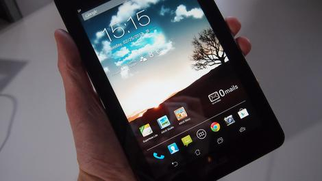 Hands-on review: MWC 2013: Asus Fonepad