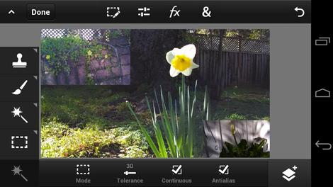Hands-on review: Adobe Photoshop Touch for phone