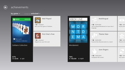 See your achievements from all the Xbox Live platforms