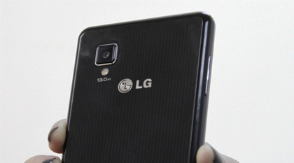 LG Optimus G - back