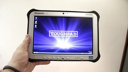Panasonic ToughPad FZ-G1 hands on
