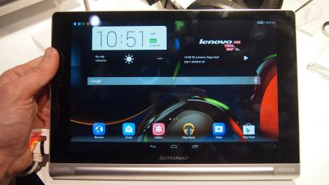 Hands-on review: MWC 2014: Lenovo Yoga Tablet 10 HD+