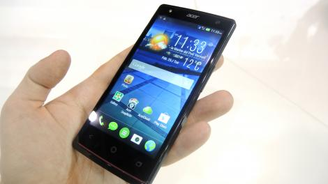 Hands-on review: MWC 2014: Acer Liquid E3