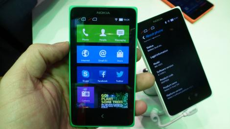 Hands-on review: MWC 2014: Nokia X+