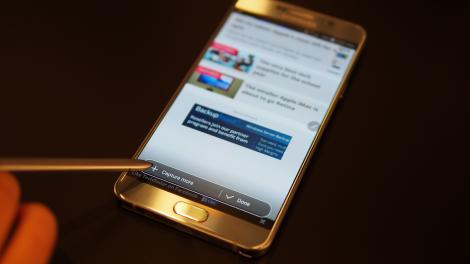 Hands-on review: Galaxy Note 5