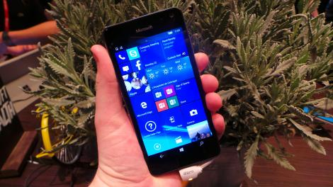 Hands-on review: MWC 2016: Microsoft Lumia 650