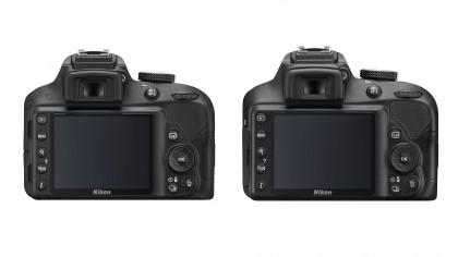 D3300 vs D3400
