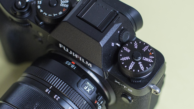 X-t2 command dials