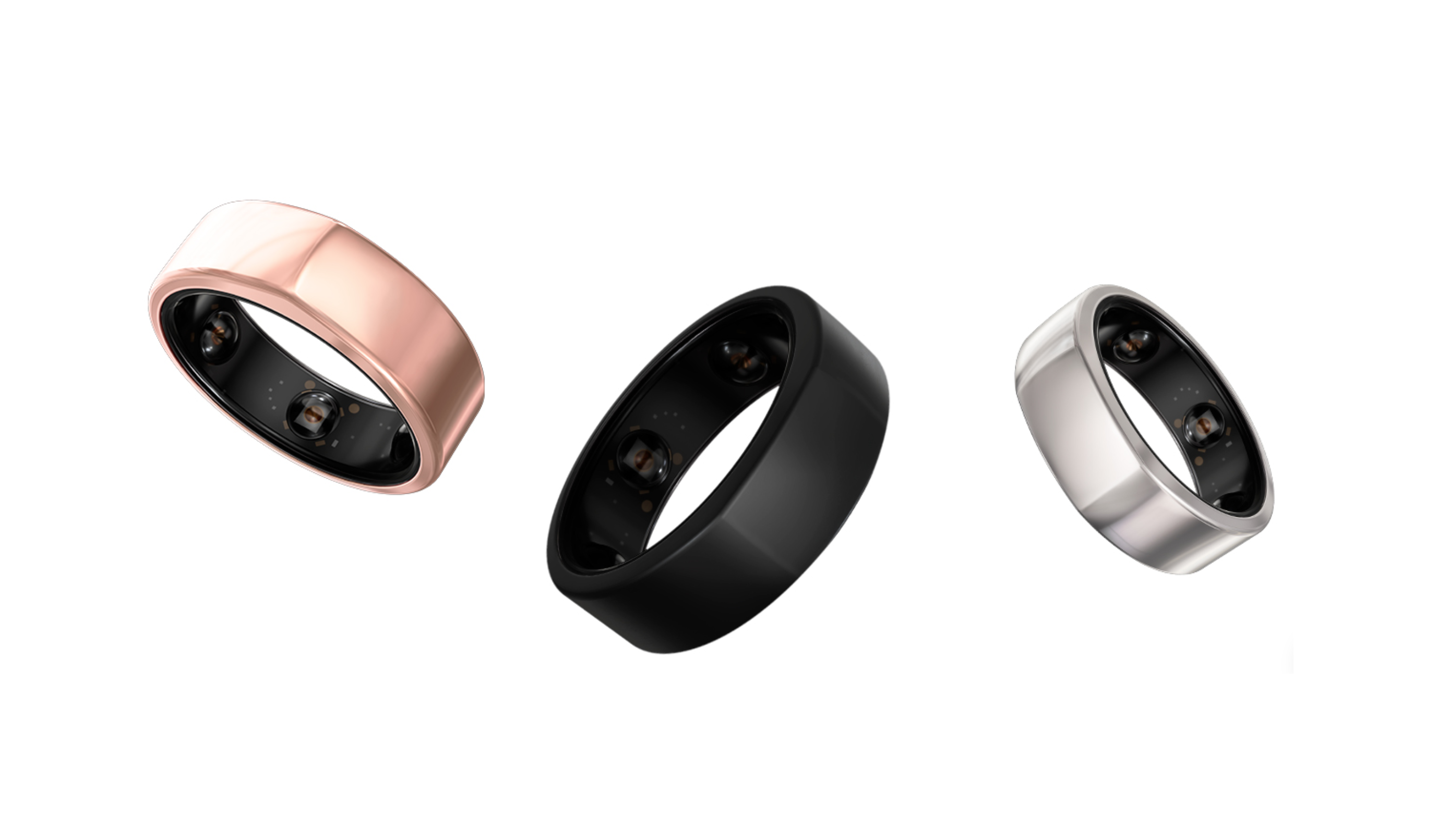 A photo of the Oura smart ring