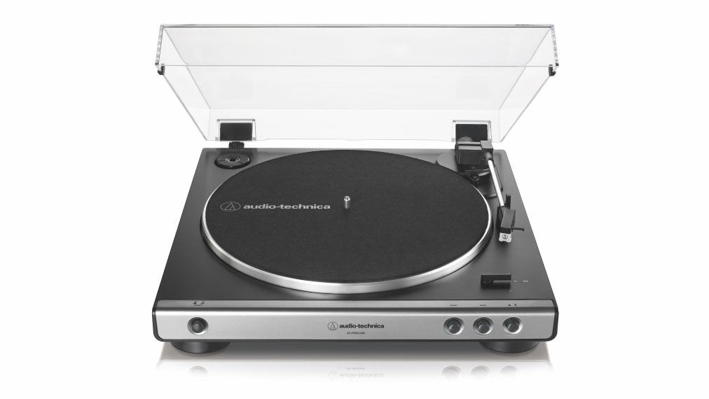 A product shot of the audio technica AT-LP60XUSB
