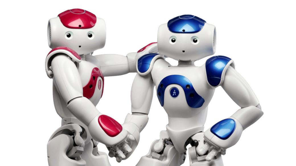 Image of two nao robots