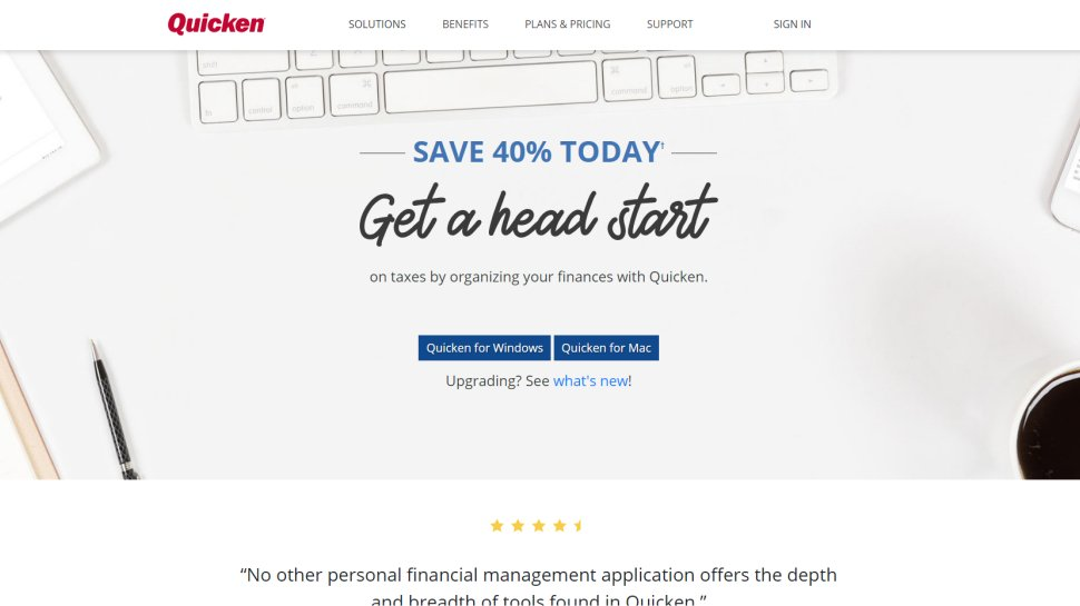 Quicken - Speed up accounting with this super-fast desktop too