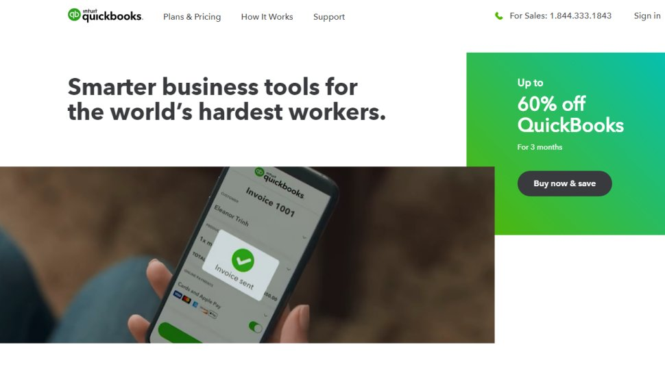 Intuit QuickBooks - Veteran cloud-based suite that covers all business needs