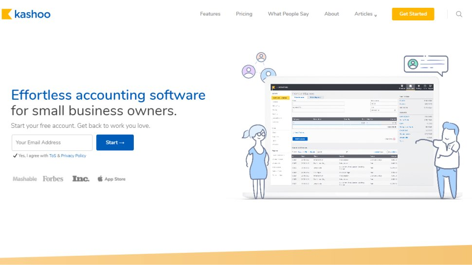 Kashoo - Hassle-free accounting software for small business users