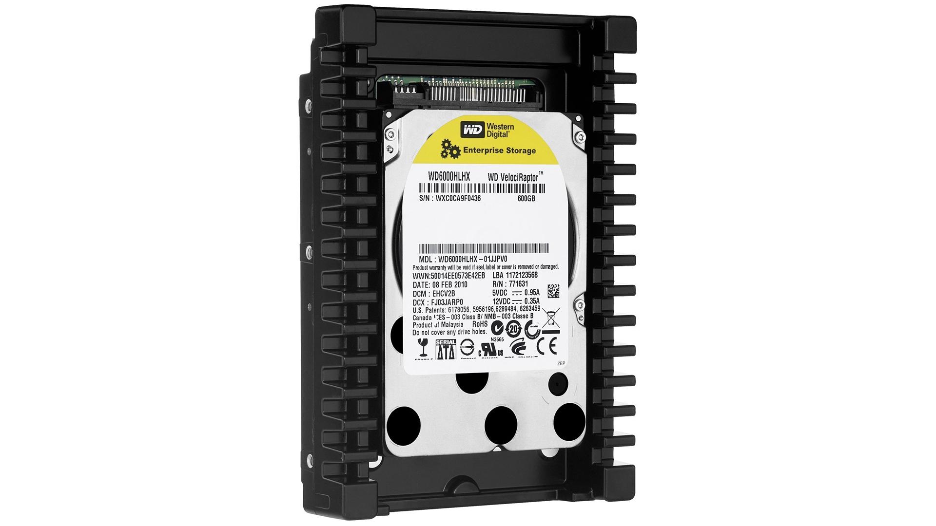 Best gaming hard drive: WD VelociRaptor